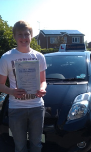Driving Lessons Kirkby in Ashfield - Jamie Younger