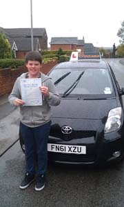 Driving Lessons Mansfield Woodhouse - Alex Millot