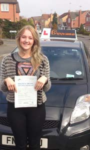 Driving Lessons Mansfield Woodhouse - Georgina Warrington
