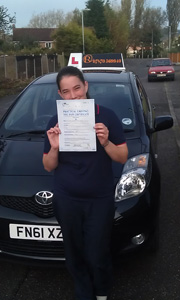 Driving Lessons Sutton in Ashfield - Susan Riley