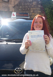 Driving Lessons in Kirkby in Ashfield - Catherine Hoggard