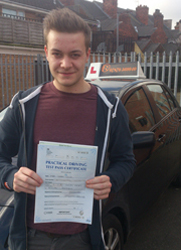 Driving Lessons in Mansfield - Adam Stokes