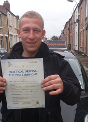 Congratulations on passing
