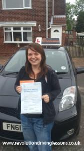 Driving Lessons in Mansfield Kirkby in Ashfield Kim McCann