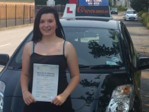 Driving Lessons in Mansfield - Lauren Wilson