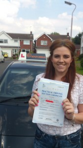 Driving Lessons in Mansfield - Olivia Stockdale