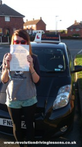 Driving Lessons in Mansfield - Rebecca Fretwell