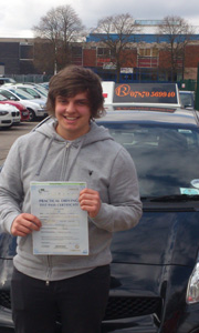 Driving Lessons in Sutton in Ashfield - Tom Marsh