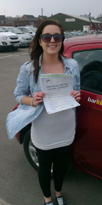 Driving lessons Charlotte Cooper