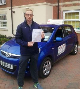 Driving lessons in Crich - Jack Connor
