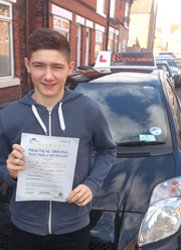 Congratulations Tom on passing your test