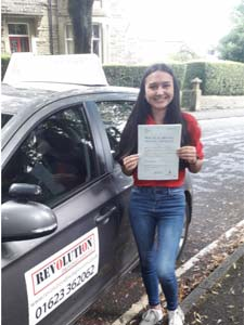 Driving lessons Mansfield